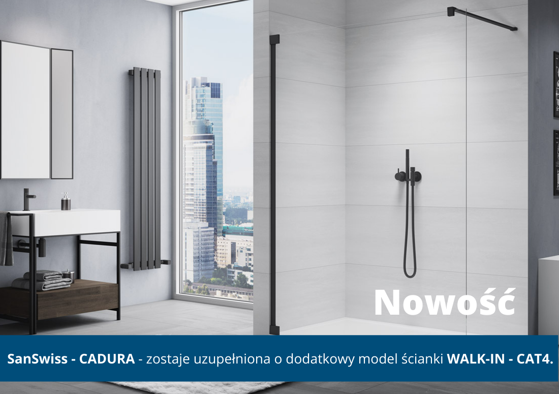 SanSwiss NOWY WALK-IN CADURA