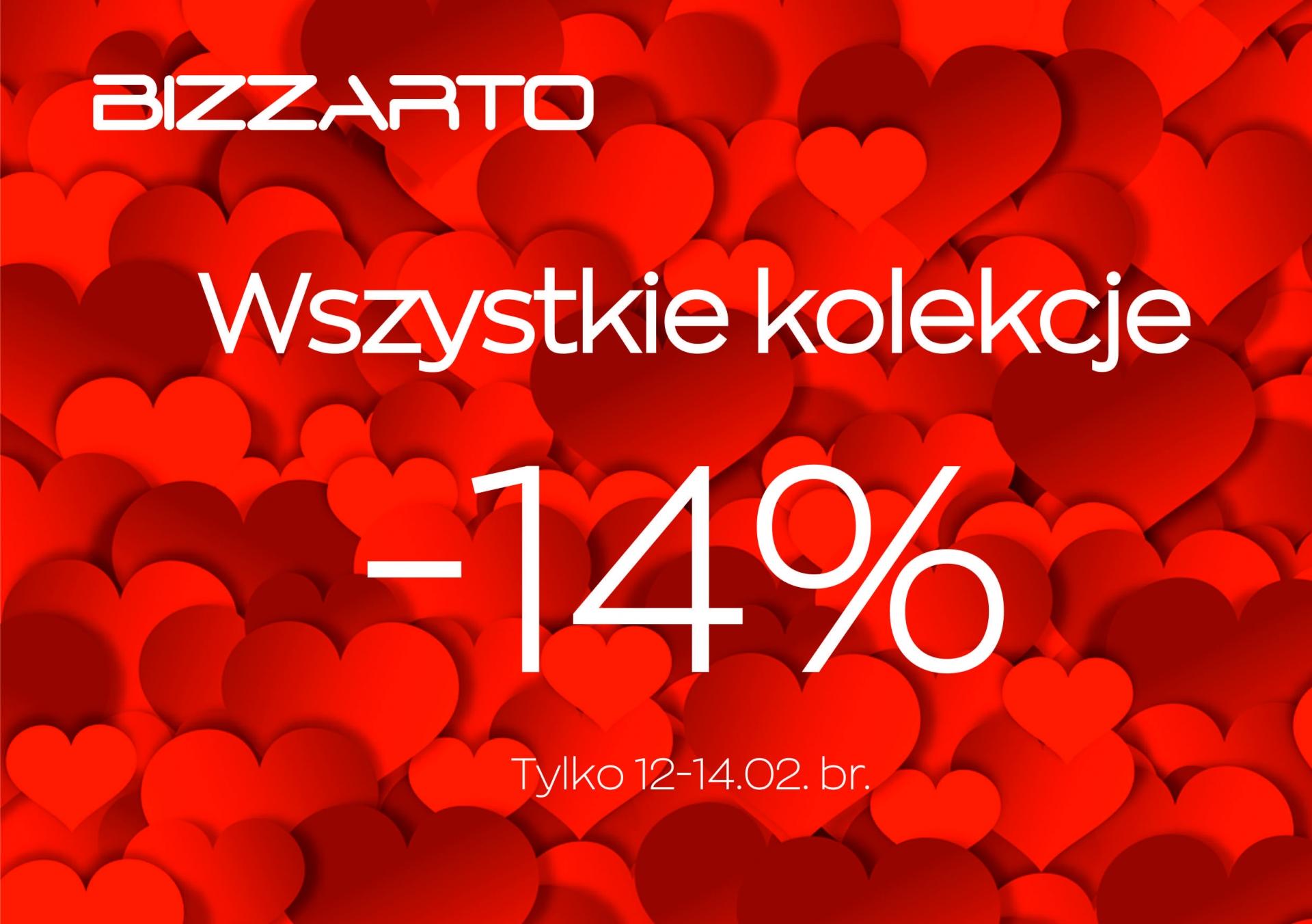 Walentynkowe -14% z BIZZARTO